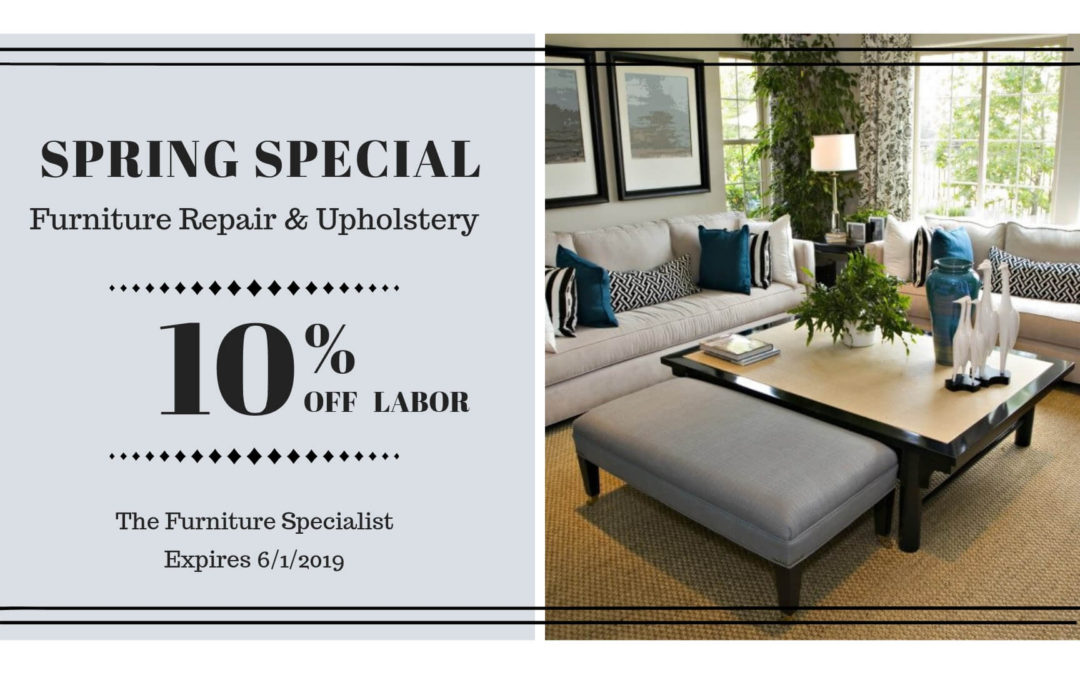The Furniture Specialist Spring Special